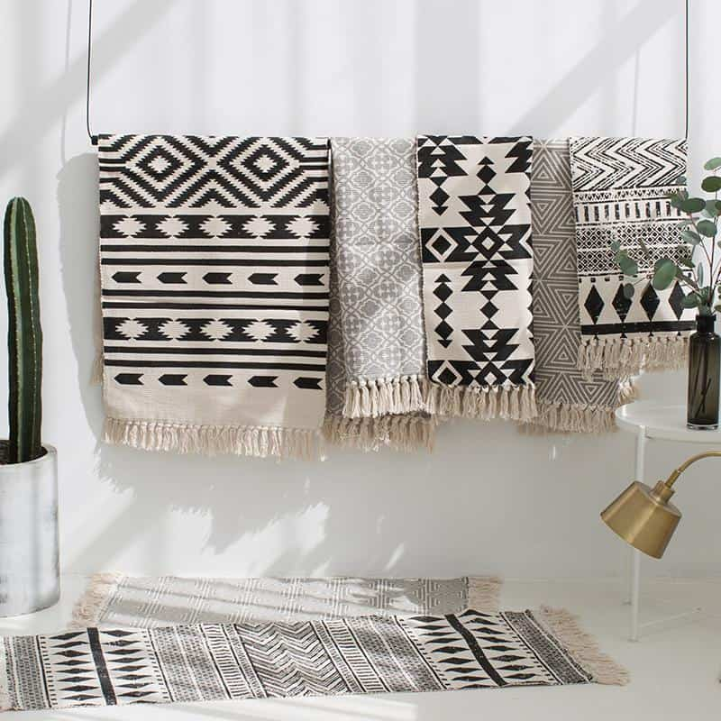 Hunter Monochrome Rug Rugs