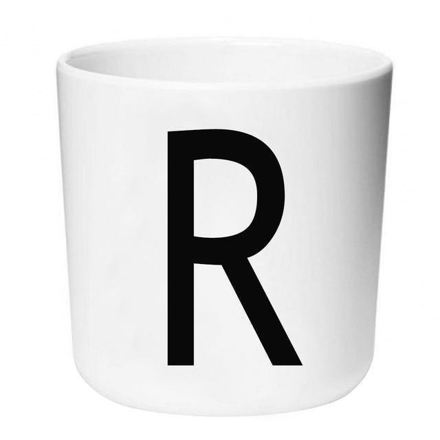 Letters by Una Hubmann Drinkware Letter R