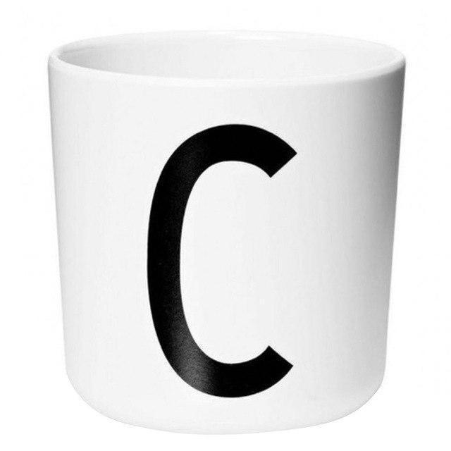 Letters by Una Hubmann Drinkware Letter C