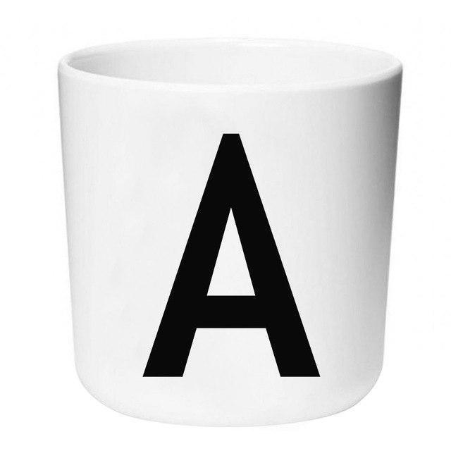 Letters by Una Hubmann Drinkware Letter A