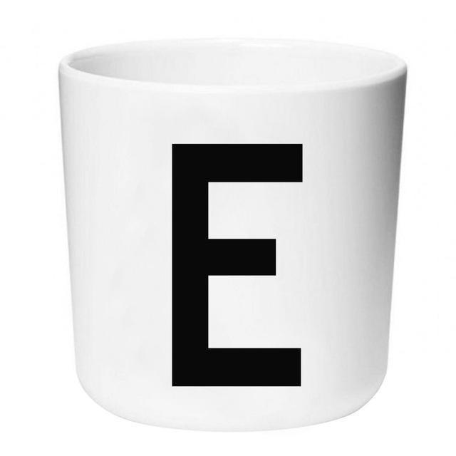 Letters by Una Hubmann Drinkware Letter E