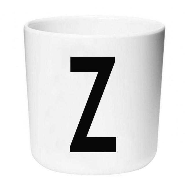 Letters by Una Hubmann Drinkware Letter Z