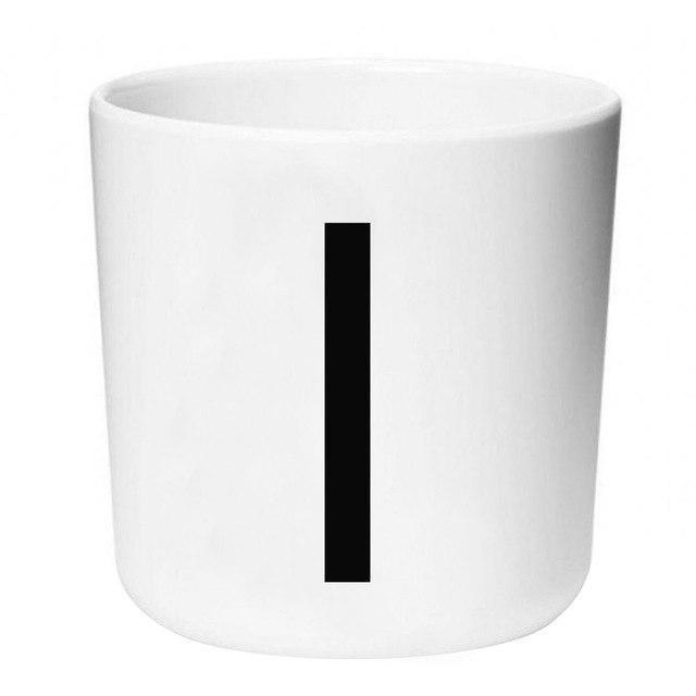 Letters by Una Hubmann Drinkware Number 1