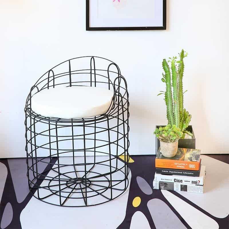 Spider by Kynlee Hobbs Chair Black Pepper