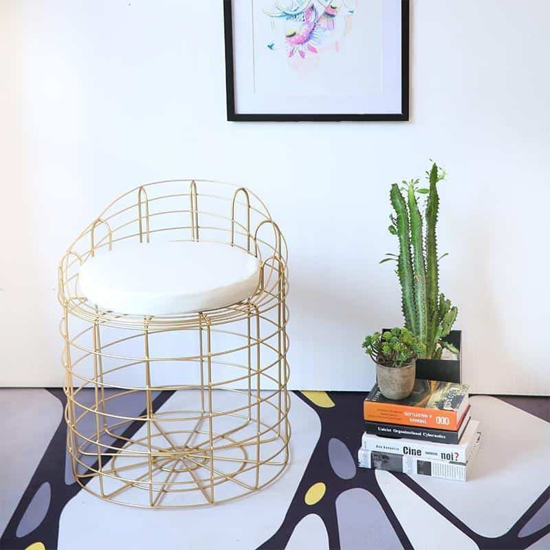 Spider by Kynlee Hobbs Chair Gold Bold