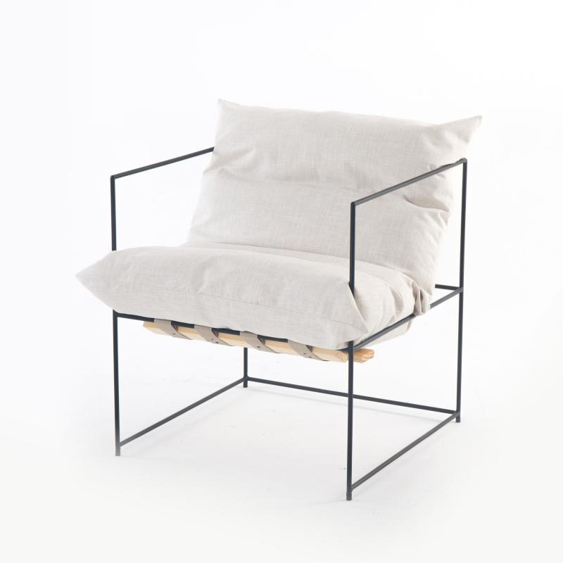 Relocation by Kynlee Hobbs Chair Relocation White