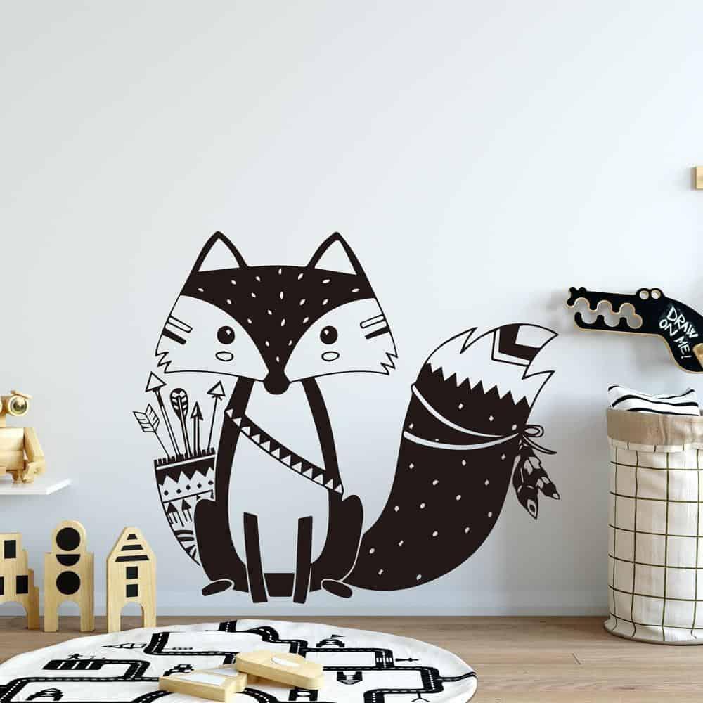 Lovely Fox by Hexa Kids Wall Decals