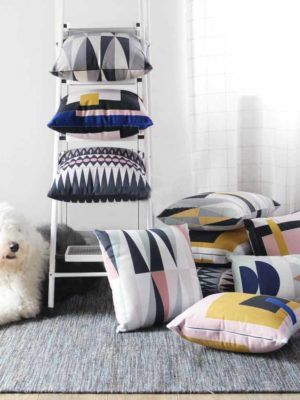 Complete Nordic Geometry | Celiné Printed Cushion
