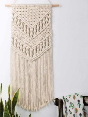 Boho Chic by Ingrid Tapestry/Macrame