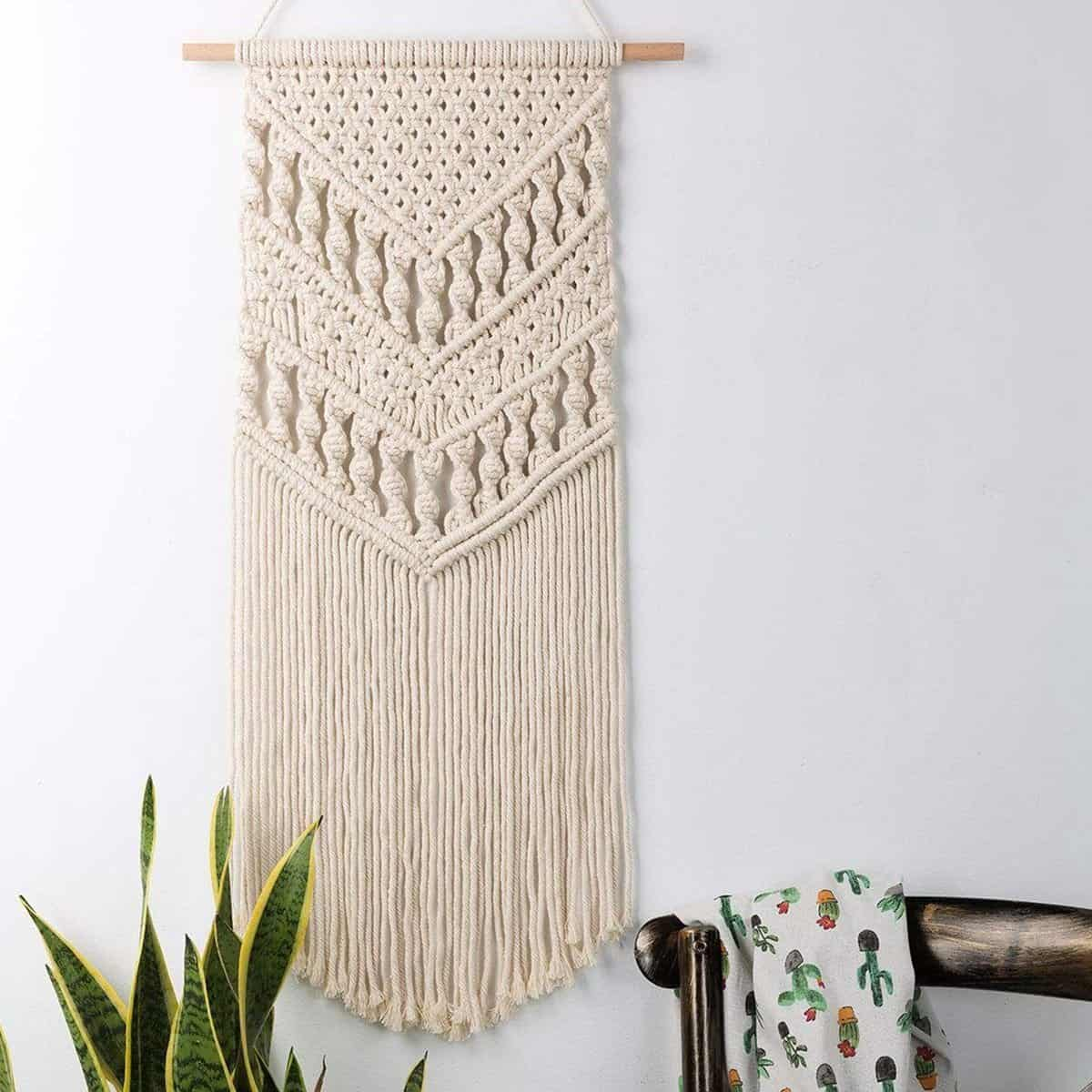 Boho Chic by Ingrid Tapestry/Macrame unique and elegant Tapestry