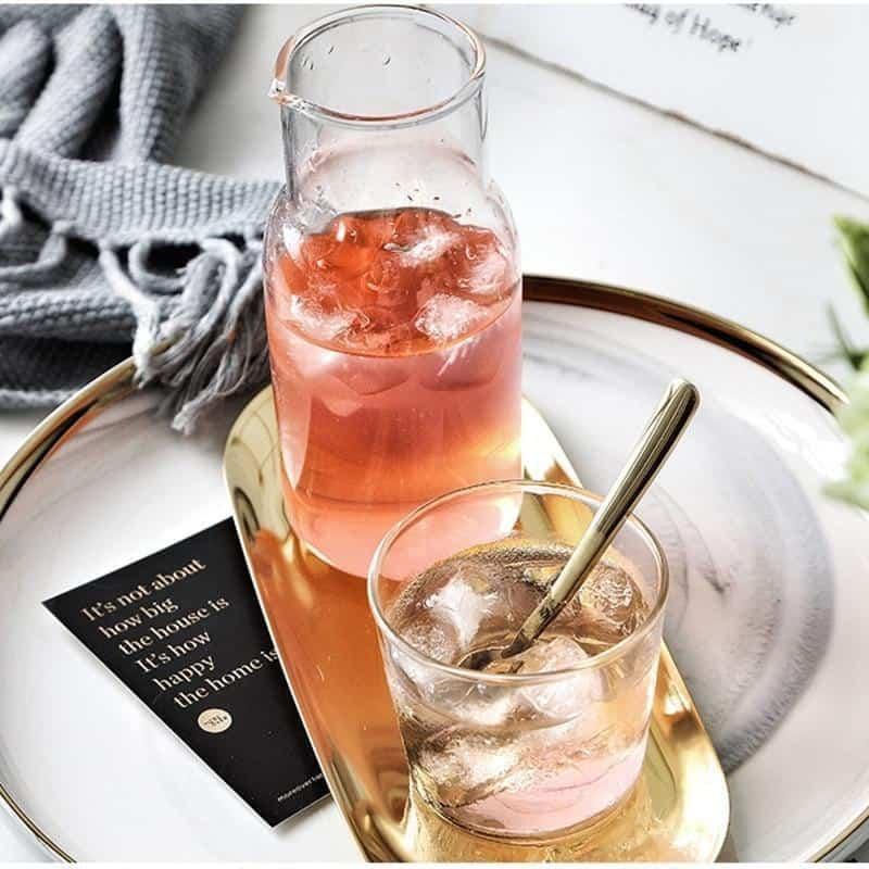 Lunas Glass Bottle+Cup