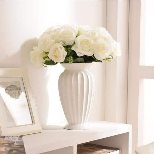 Wedding by Jasmine Bergmann Vase White M
