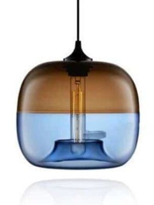 Appiation Duo Glass Ball Pendant