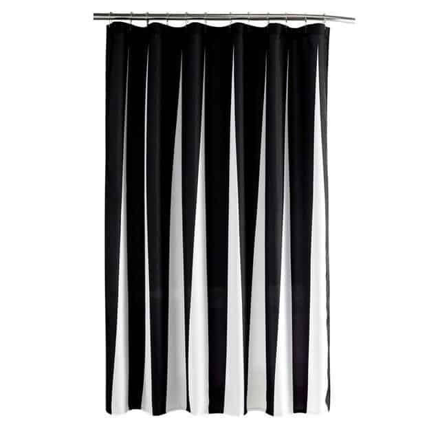 Dynamico For Luxe Shower Curtain unique and elegant Shower curtain Black / 180x180cm