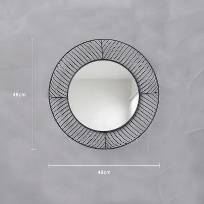 Elementary by Ann Sanderson Mirror Rich black / Ø48cm
