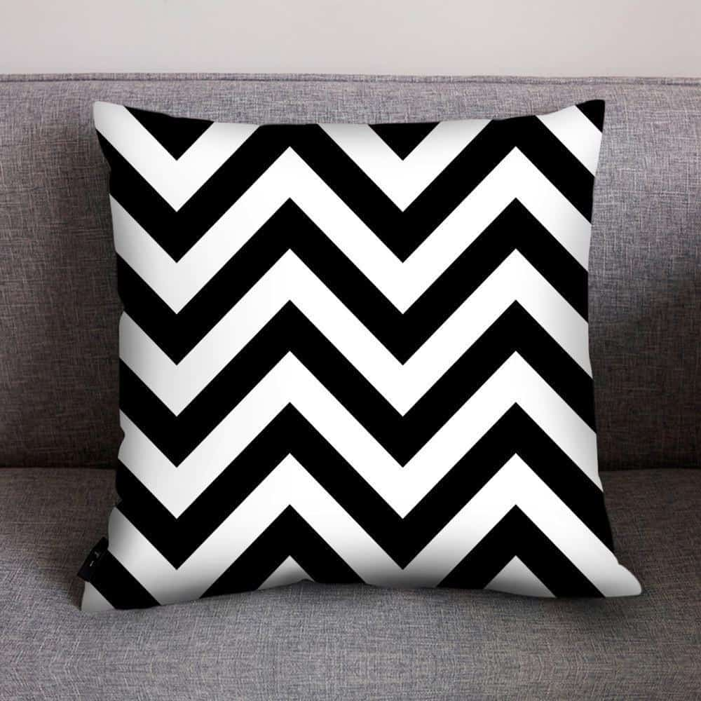 Mix Celiné Cushion Pillow Zig Zag