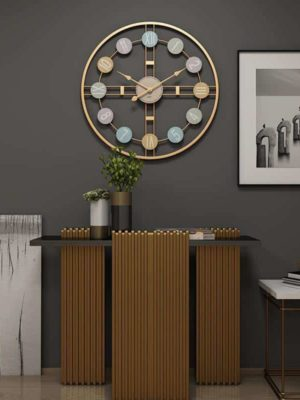 Abstract Wall Clock by Ingrid