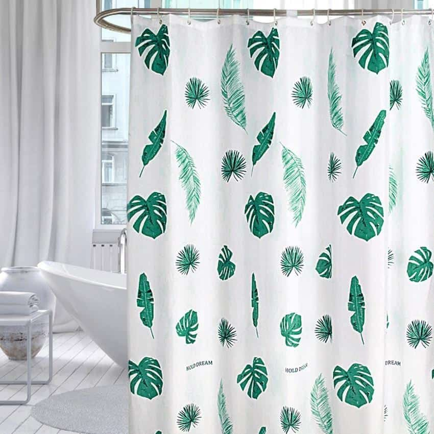 Nordic Bath For Luxe Shower Curtain Shower curtain