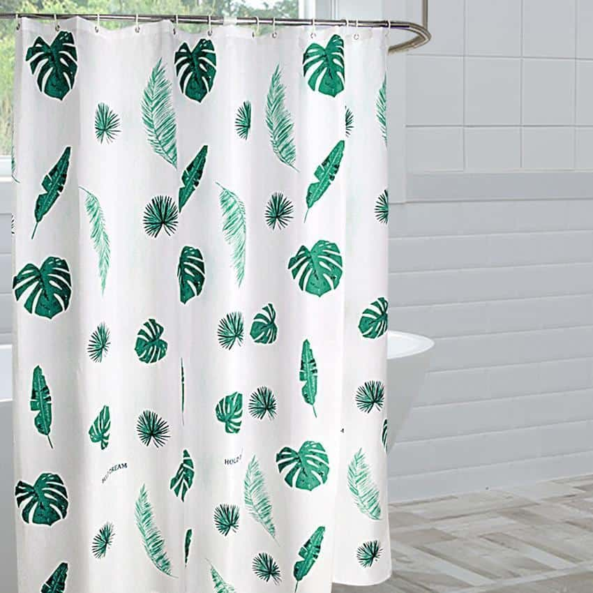 Nordic Bath For Luxe Shower Curtain Shower curtain 180x180cm
