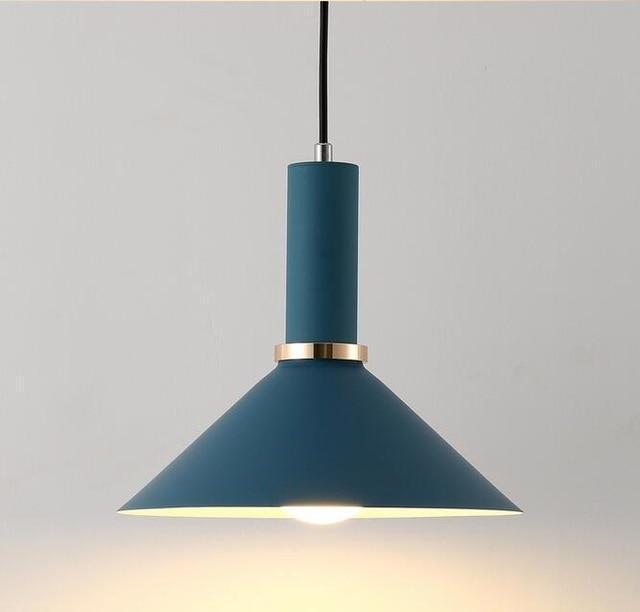 Ferryman Modern Pendant Light unique and elegant Pendant lighting Dark blue B