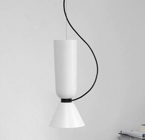 Ping Pong Pendant Lighting Pendant lighting Double White - Pipe