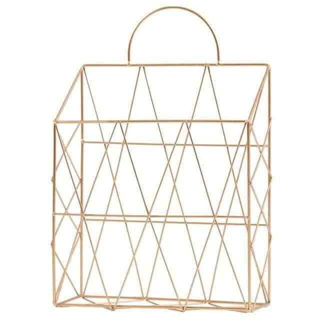 Harvest | Metal Wire Hanging Basket | Shelf by Valéry