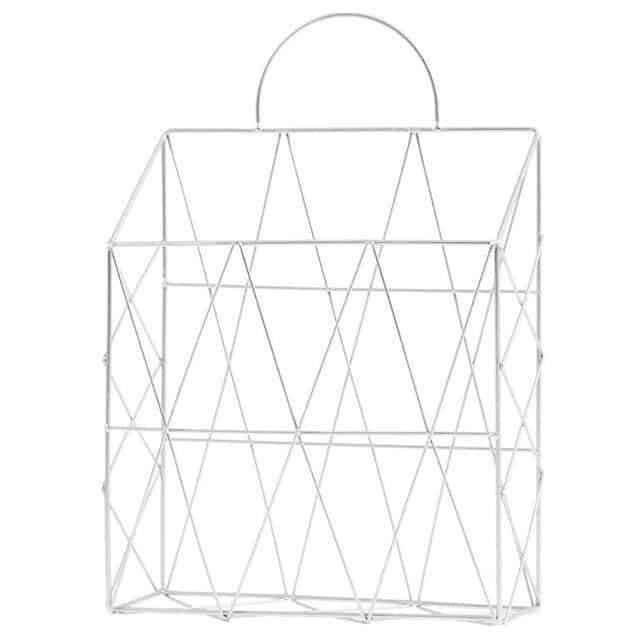 Harvest | Metal Wire Hanging Basket | Shelf by Valéry
