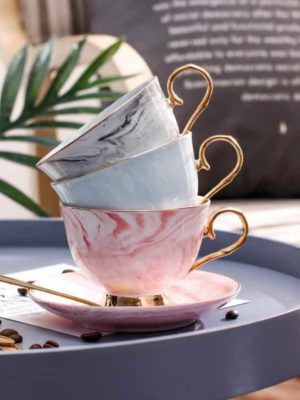 Oriental Marble / Coffee Cups