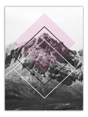 The Monument Mountains | Unframed Canvas Art