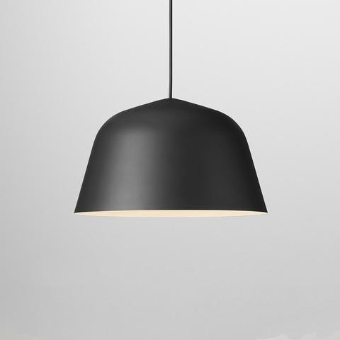 Nordic Malmö Chimney Pendant Lighting Pendant lighting Black / Ø35cm