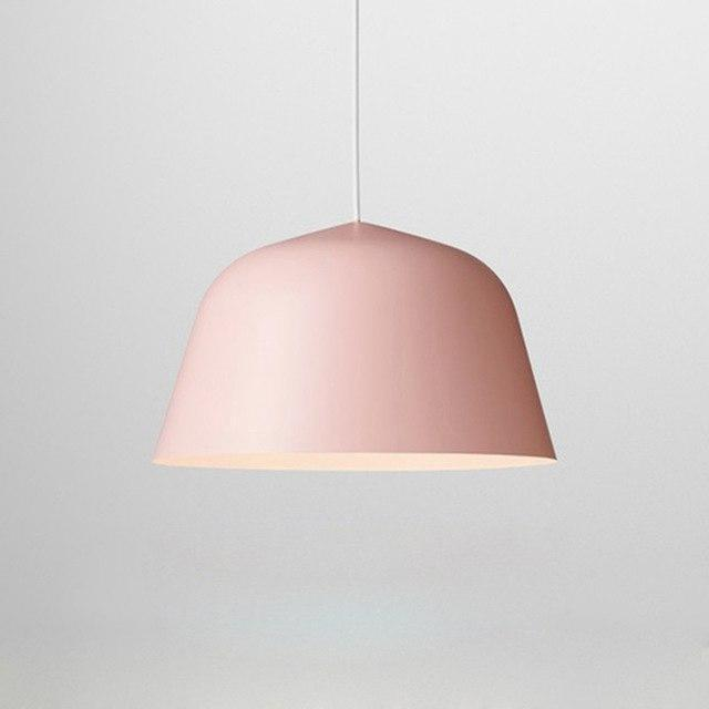 Nordic Malmö Chimney Pendant Lighting Pendant lighting Pink / Ø25cm