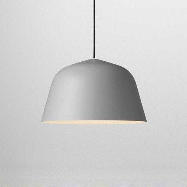 Nordic Malmö Chimney Pendant Lighting Pendant lighting Light Grey / Ø40cm