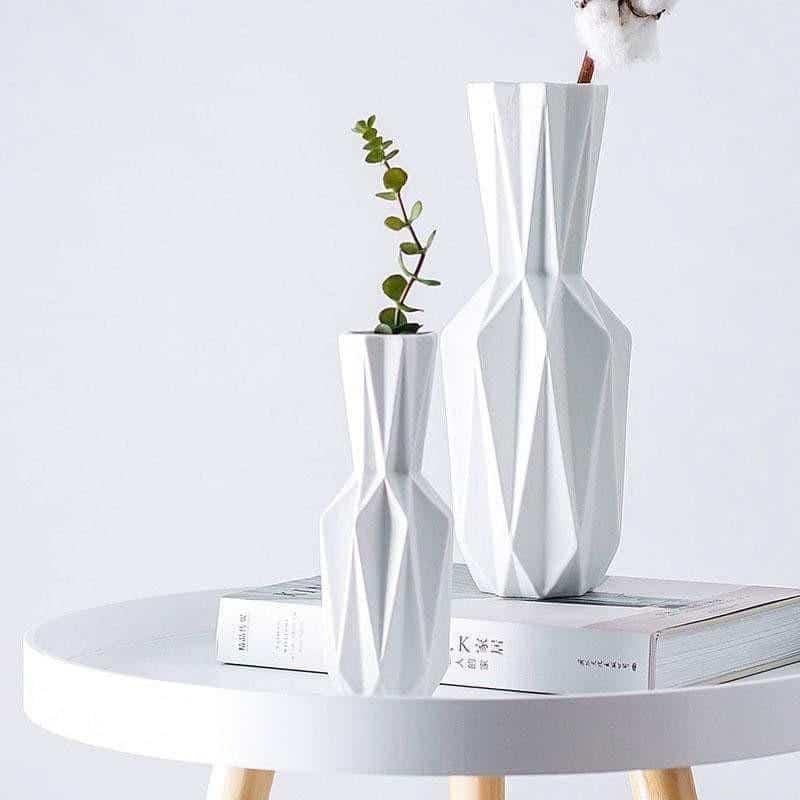 Origami By Jasmine Bergmann - Ceramic New Vase