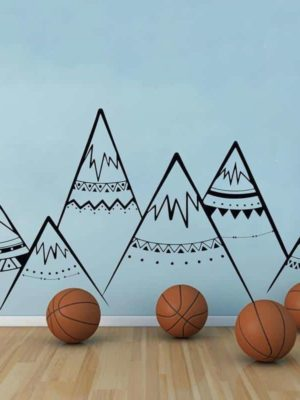 Mountains by Hexa Kids Wall Decals