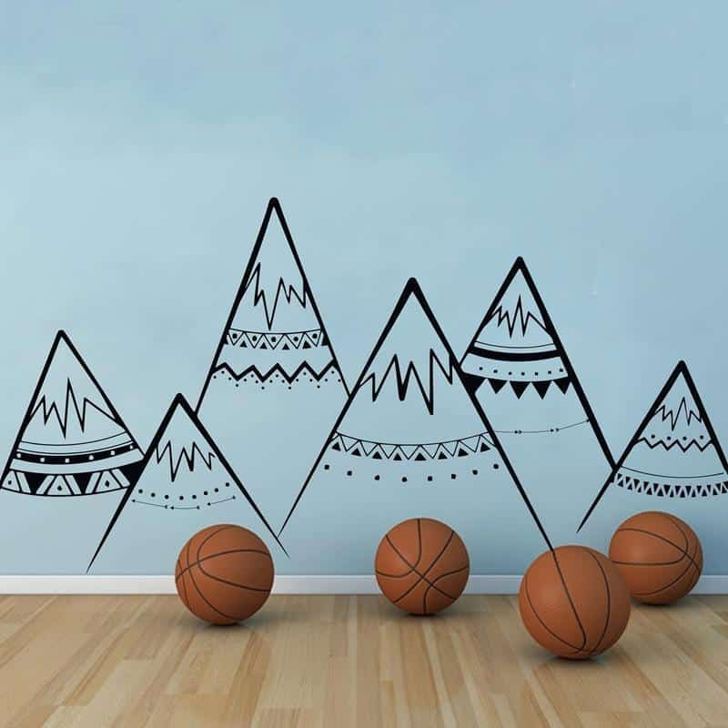 Mountains by Hexa Wall Sticker