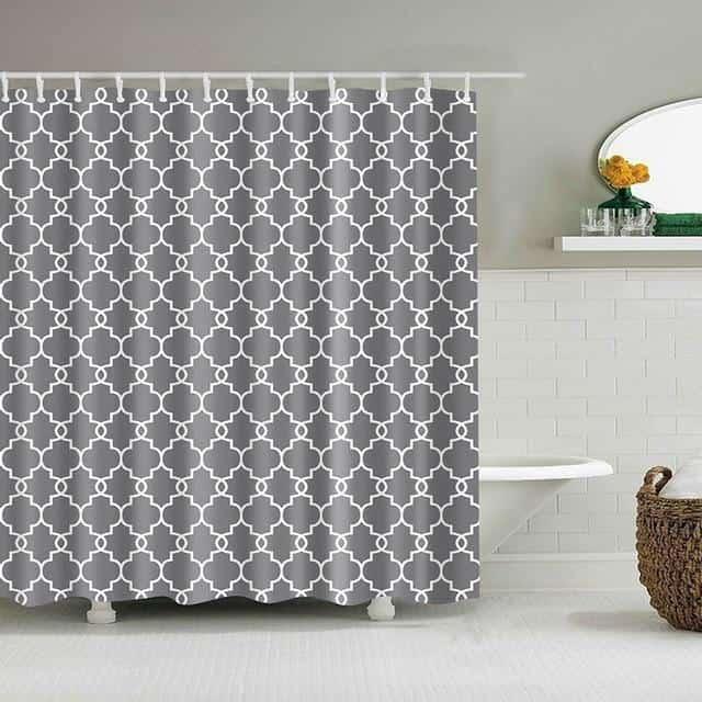 Collier Secret For Luxe Shower Curtain unique and elegant Shower curtain
