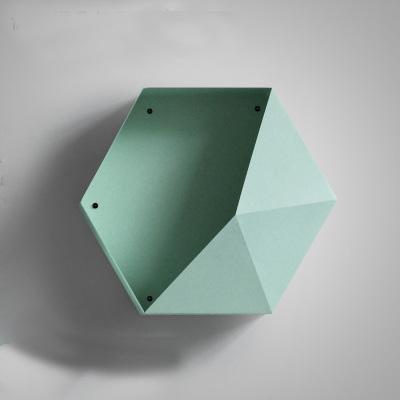 Hexa Reward   Metal Hexagonal Shelf   by Valéry