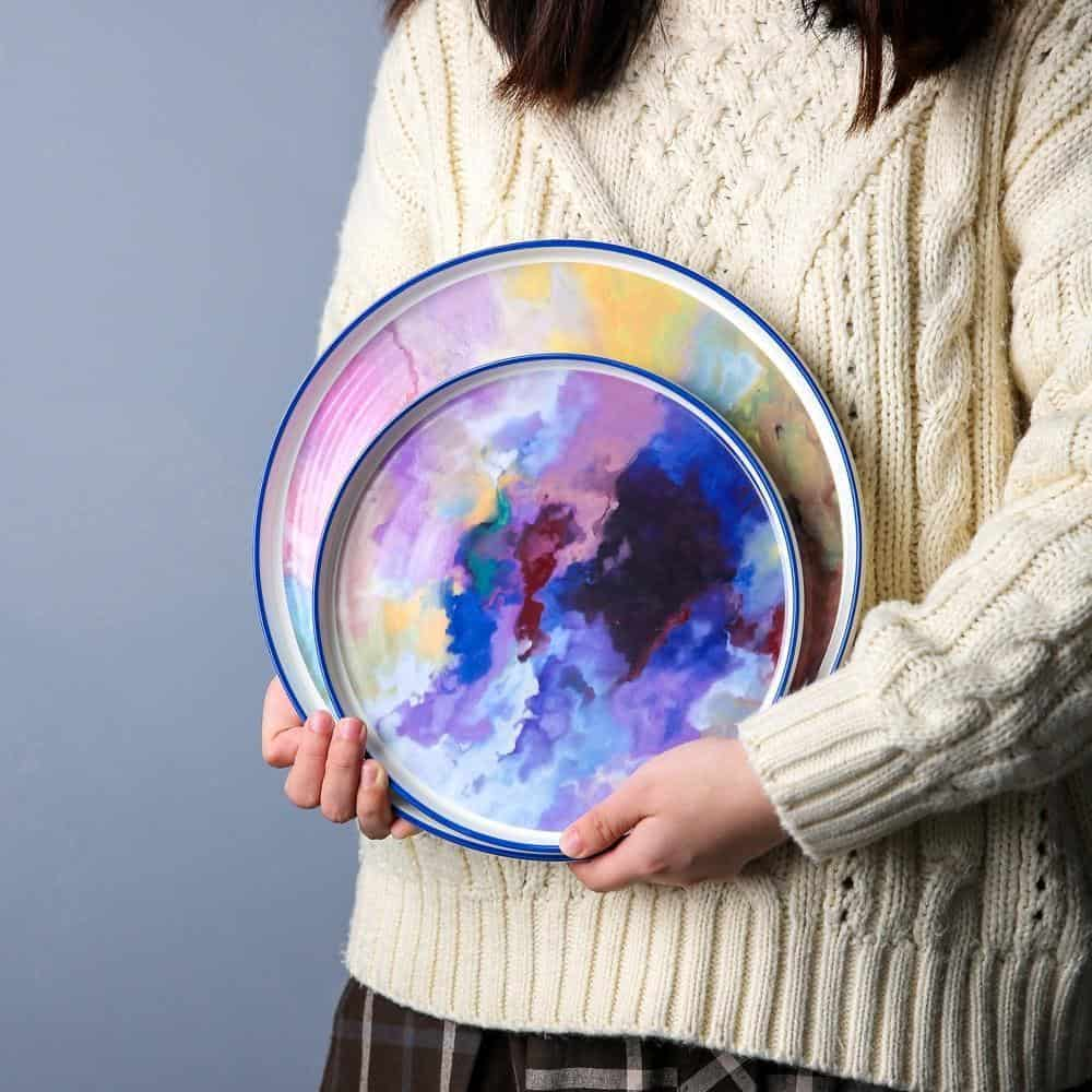 Daydream Plate | Watercolor Plates