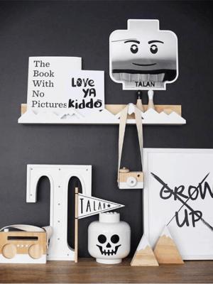 Instagram Nordic Objects| Wood Camera | Shelf Decoration