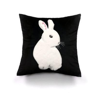 A bunny thinker