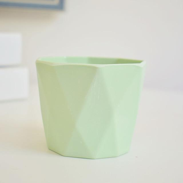 Little Hero by Jasmine Bergmann Vase Light Green