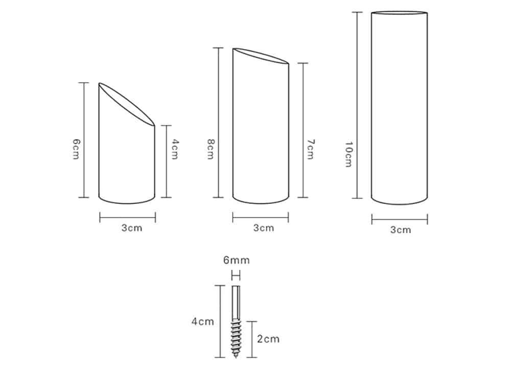 wall-hook, storage - Wood Montgomery Wall Hook / 3pcs