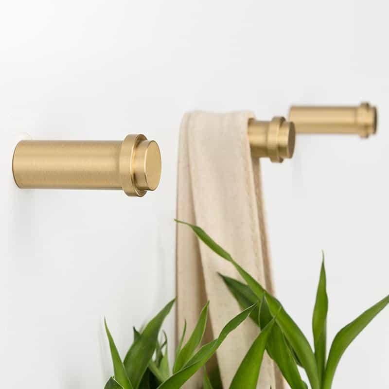 Adriel Geometry Brass Wall Hook
