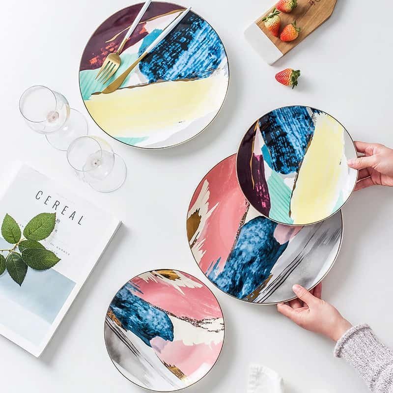 Colorful Florence Plates