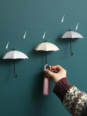 Mary Poppins Umbrella Wall Hooks /6pcs