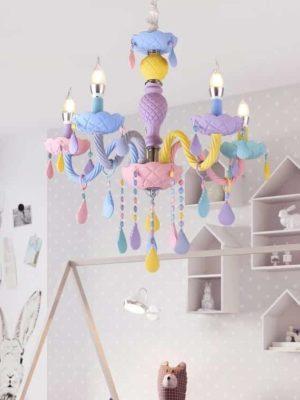 Fantasy Macaron Chandelier | Kids Room | Bedroom