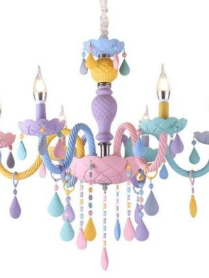 Fantasy Macaron Chandelier | Kids Room | Bedroom