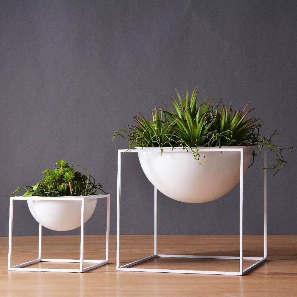 Waterfront Cube Plant Pot