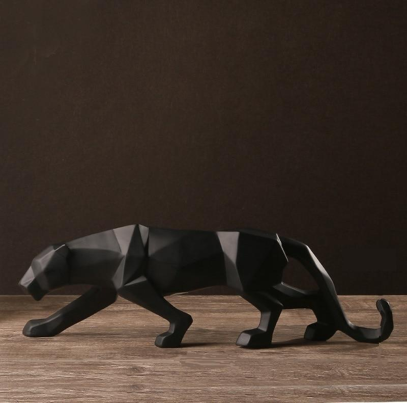 Pantherallopa by Viviana Johnsson Sculpture/Decorative Sculpture Matte Black