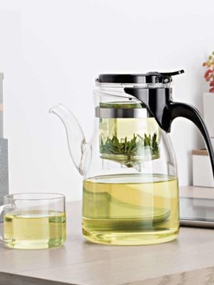 Yomoto Beatriz Glass Tea Set 900ml /4+1pcs